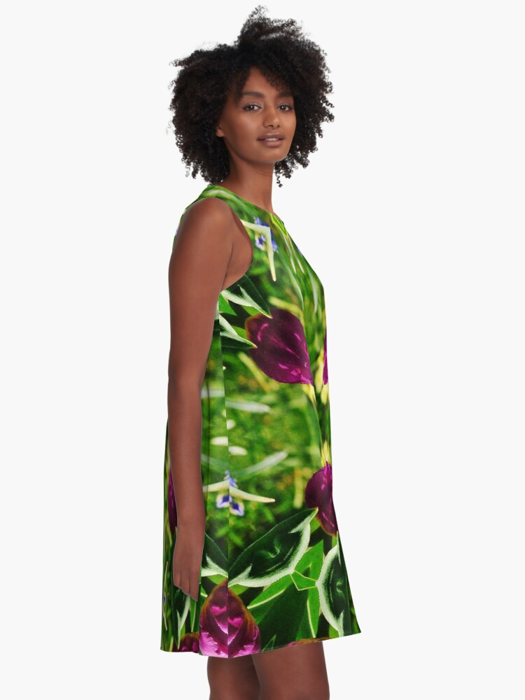 Alternate view of Floral #55 A-Line Dress