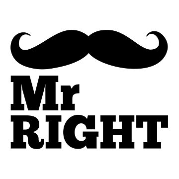 Mr Right Funny Quote by quarantine81