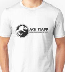 Jurassic World - Asset Containment Unit Unisex T-Shirt