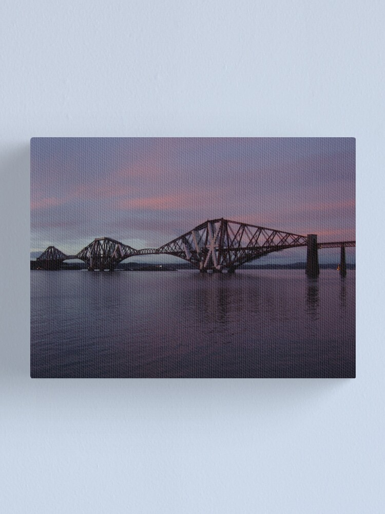 Alternate view of The Bridge at Dusk Canvas Print