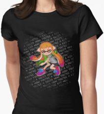 Splatoon Inkling Girl Women's Fitted T-Shirt