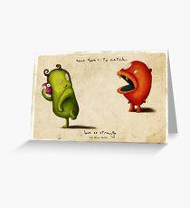Love Es Strange Critters  Greeting Card