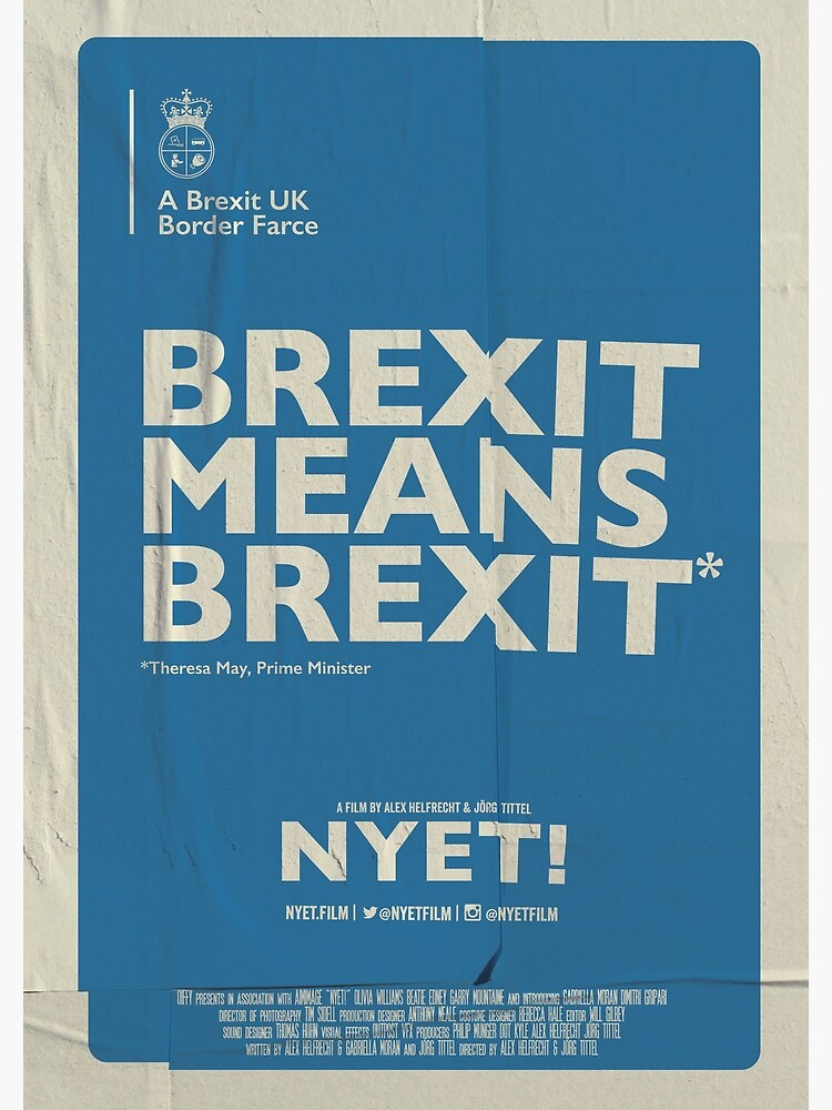 Brexit Notebook  by nyetfilm