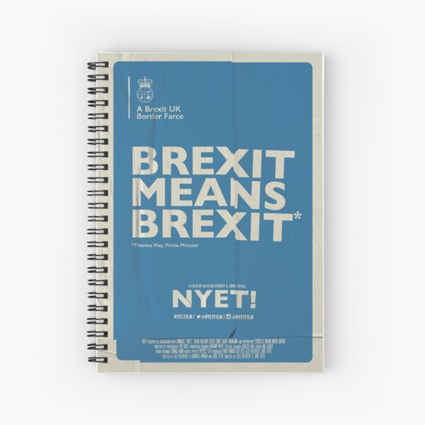 Brexit Notebook  Spiral Notebook