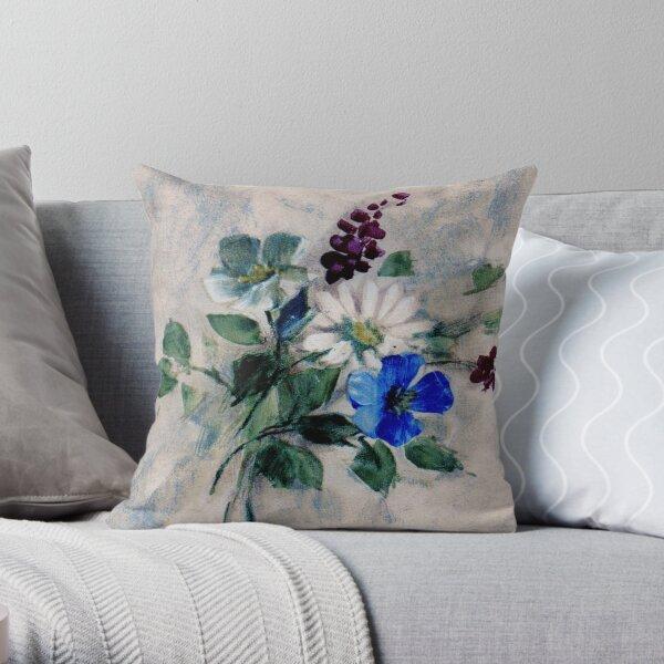 Floral #50 Throw Pillow