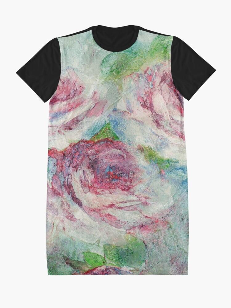Alternate view of Memories of Roses Graphic T-Shirt Dress