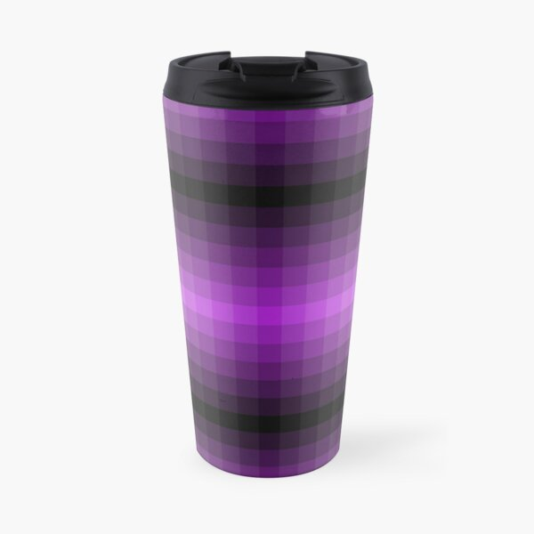 Purple + Greyscale Travel Mug