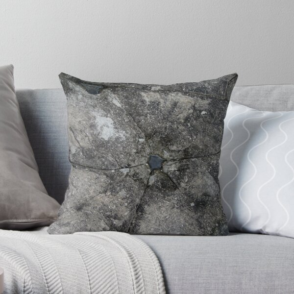 Jewel in a Falls Creek Rock Throw Pillow