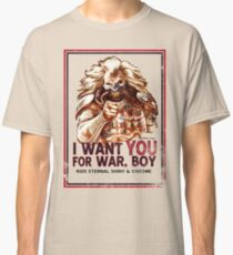I Want YOU for WAR, BOY Classic T-Shirt