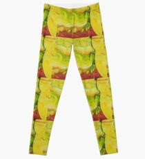 Citric still life abstracted Leggings