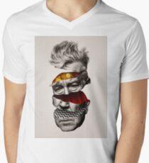 David Lynch Twin Peaks Graphic V-Neck T-Shirt