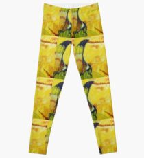 Citric Abstract Leggings