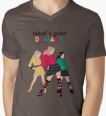 What's Your Damage? - Heathers the Musical Men's V-Neck T-Shirt