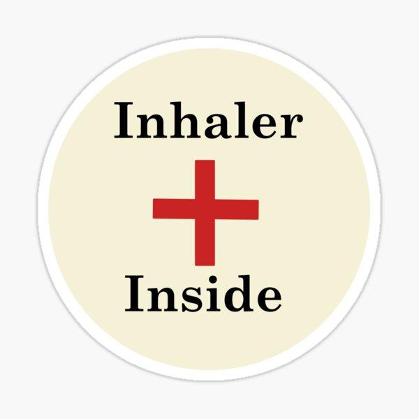 Inhaler Inside,Asthma Sticker