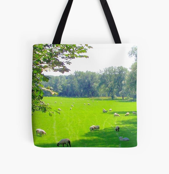 Westmill, on the Buntingford railway line, Hertfordshire All Over Print Tote Bag