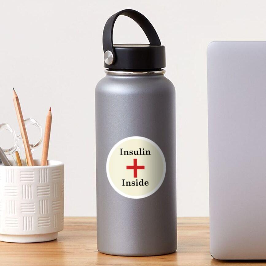 Insulin Inside,Diabetes Sticker