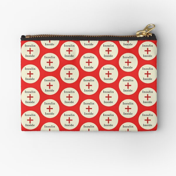 Insulin Inside,Diabetes Zipper Pouch