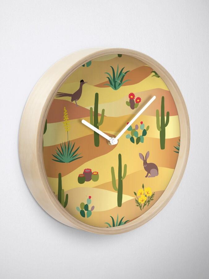 Alternate view of Desert Life Clock