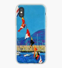 Dún Laoghaire Harbour and Howth Head iPhone Case