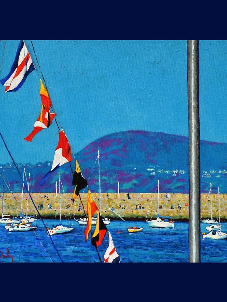 Dún Laoghaire Harbour and Howth Head by eolai