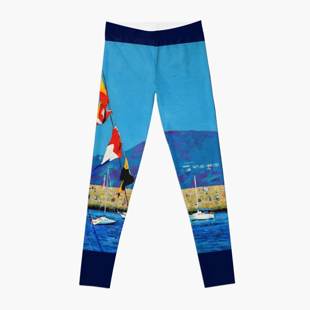 Dún Laoghaire Harbour and Howth Head Leggings