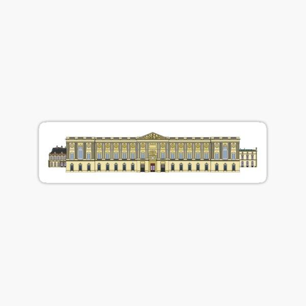 La colonnade du Louvre Sticker