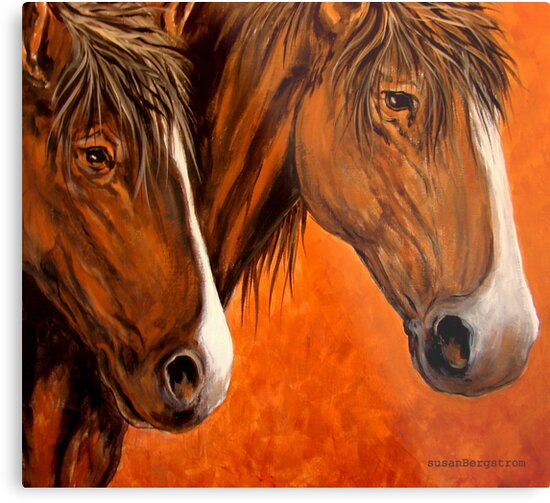 Fresh Water For My Horses by Susan McKenzie Bergstrom