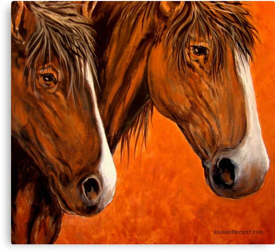 Fresh Water For My Horses by Susan  Bergstrom