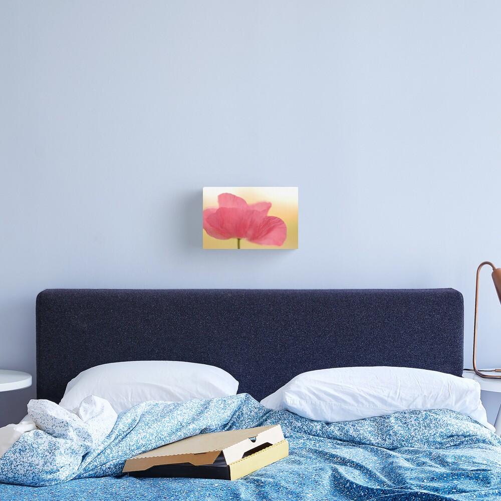 La Poppy Canvas Print