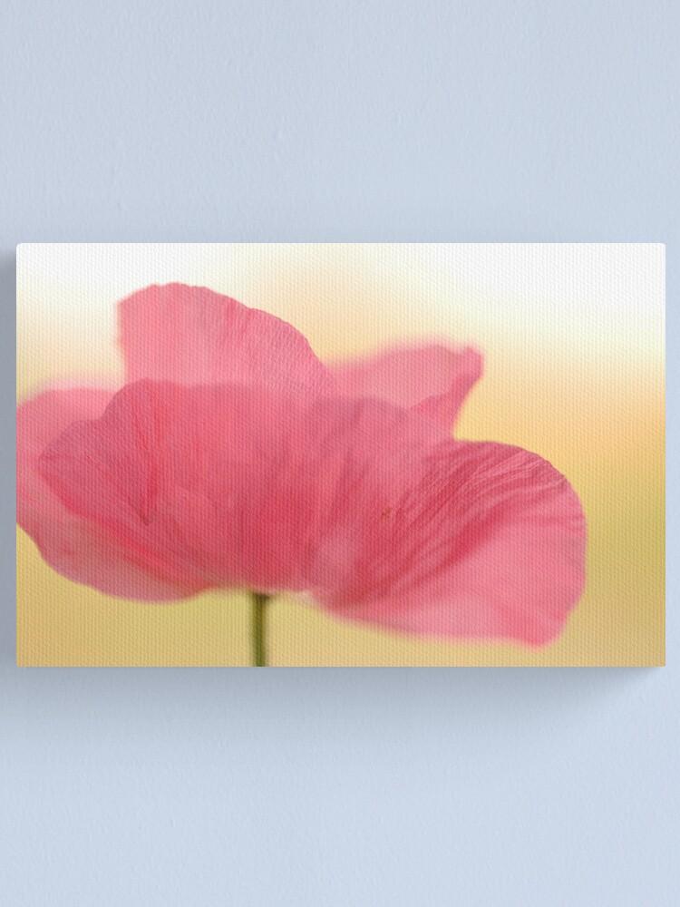 Alternate view of La Poppy Canvas Print
