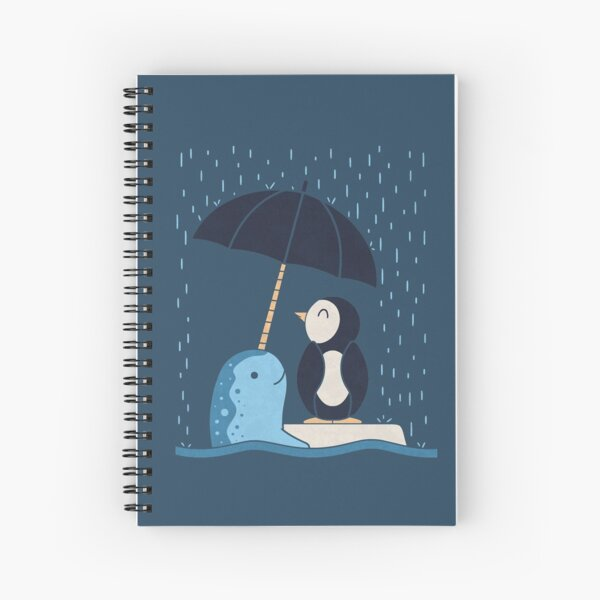 Helpful Narwhal Spiral Notebook