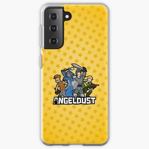 Angeldust Case—Logo (Stars) Samsung Galaxy Soft Case