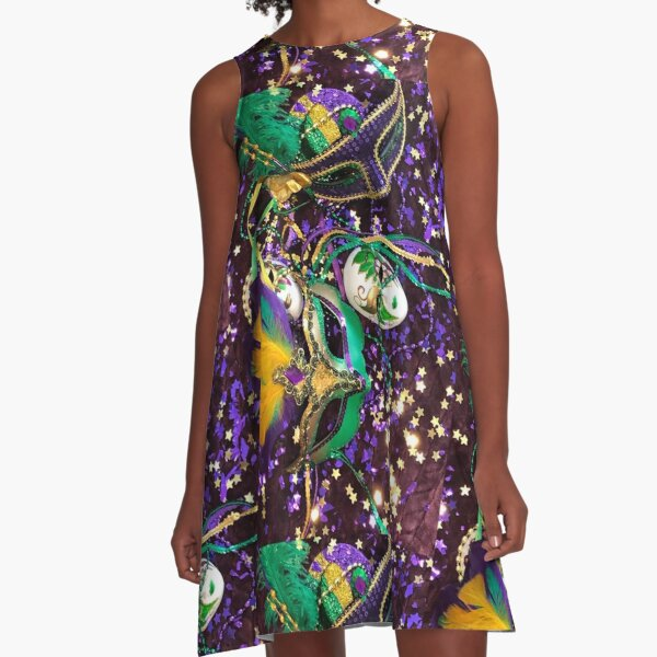 Madi Gras VII A-Line Dress