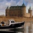 Fisherman Muiderslot Castle by DutchLumix