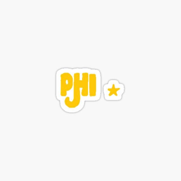 Phi Groovy Stars Sticker
