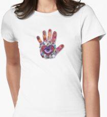 Eye Hand Women's Fitted T-Shirt