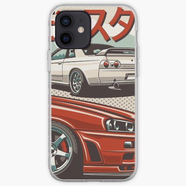 Monster Skyline GTR R32 & amp; R34 Coque souple iPhone