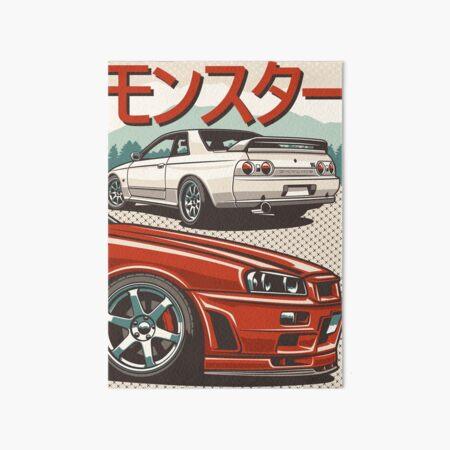 Monster Skyline GTR R32 & amp; R34 Impression rigide