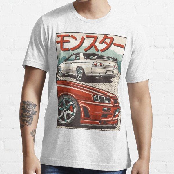 Monster Skyline GTR R32 & R34 Essential T-Shirt