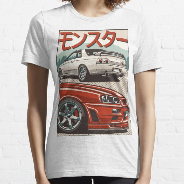Monster Skyline GTR R32 & R34 Essential T-Shirt