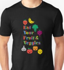 Eat Your Fruit & Veggies lll dark T-Shirt