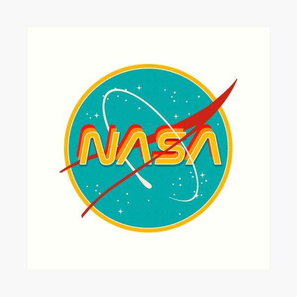 NASA RETRO Art Print