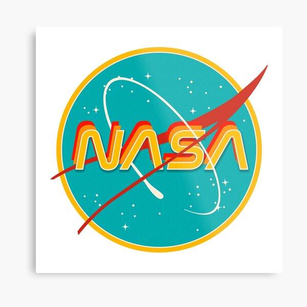 NASA RETRO Metal Print