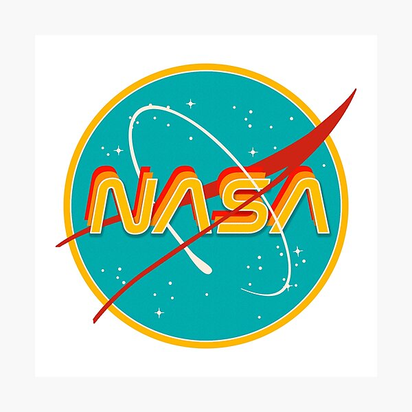 NASA RETRO Photographic Print