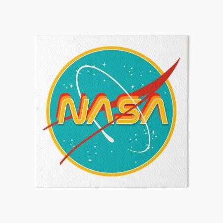 NASA RETRO Art Board Print