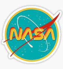 NASA RETRO Sticker