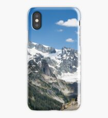 Mount Shuksan from the Chain Lakes Trail near Mount Baker iPhone Case