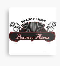 Espacio Cultural Metal Print