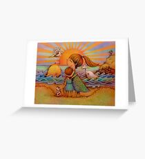 whale watching Greeting Card