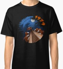 NIGHT RIDES ONLY Beast Wooden Roller Coaster at Kings Island Theme Park Classic T-Shirt